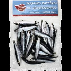 Sardines de Méditerranée GOLFO NUEVO, sachet de 600g
