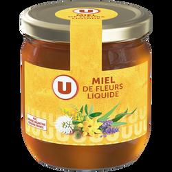 Miel de fleurs liquide U, 500g