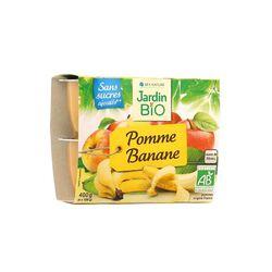DESSERT BIOFRUIT POMME BANANE