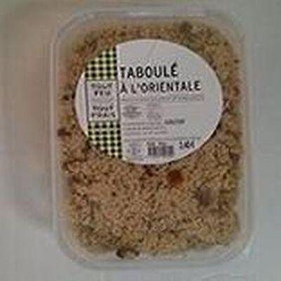 Taboulé à l'Orientale TOUT FEU-TOUT FRAIS