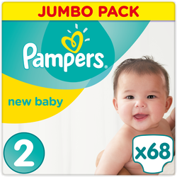 Couches new baby premium protection PAMPERS 4-8kg value+ T2 x68