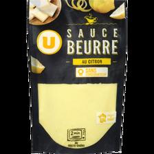 Sauce beurre citron U, élaborée en France, sachet de 180g