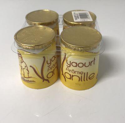 Yaourt arôme vanille Areilladou 4X125G