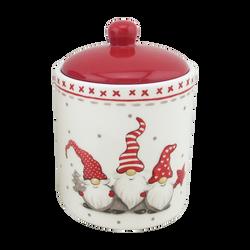 Boîte Ard'time Gnome en céramique 10,2x10,2x14cm avec couvercle