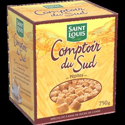 Sucre pépite de canne SAINT LOUIS, paquet de 750g
