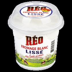 Fromage frais lisse au lait entier 8,1%mg REO 500g