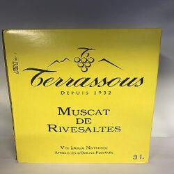 TERRASSOUS MUSCAT DE RIVESALTES 3L