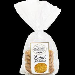 Sablé nature pur beurre, DOUCEURS DE JACQUEMART, 400g