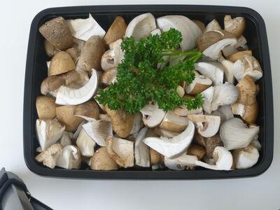 Mélange de champignons