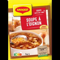 Soupe à l'oignon saveur à l'ancienne déshydratées, MAGGI, 61g, 1,2 litre