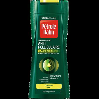 Shampooing Stop Pellicules pour cheveux gras PETROLE HAHN, 250ml
