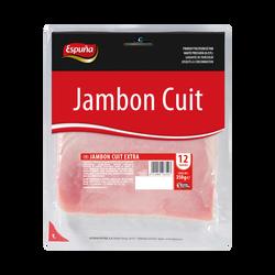Jambon cuit extra ESPUNA, paquet de 350g