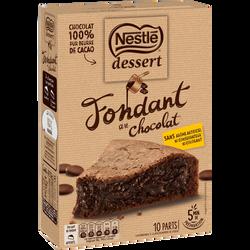 Préparation pour fondant au chocolat NESTLE dessert, paquet de 317g
