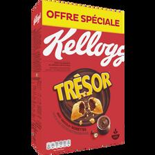 Kellogg's Céréales Chocolat Noisettes  Tresor, Paquet 750g