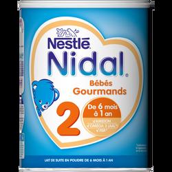Nidal croissance 1 poudre gourmands de 6mois à 1an NESTLE, 800g
