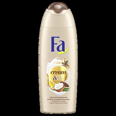 Gel douche cream oil cacao coco FA, 250ml