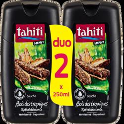 Douche origine tropique rafraîchissante TAHITI, flacon 2x250ml