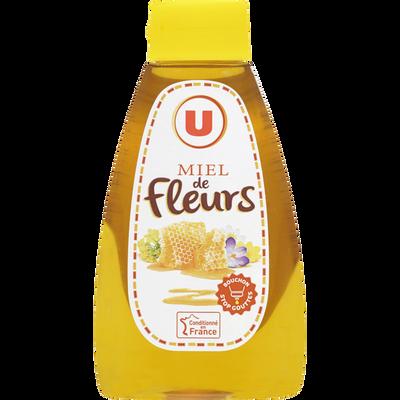 Miel de fleurs U, doseur de 250g