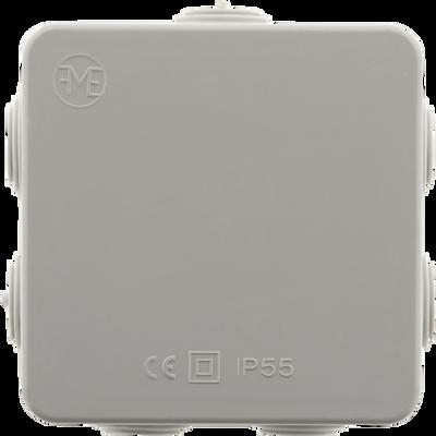 Boite étanche IP55, 80x80x36cm, 7 passes fil