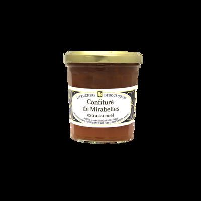 Confiture de mirabelles au miel RUCHERS DE BOURGOGNE, 375g
