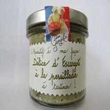 Délice d'escargot à la persillade à tartiner, l'apéritif à ma façon, 100gr, bocal, Lucien Georgelin