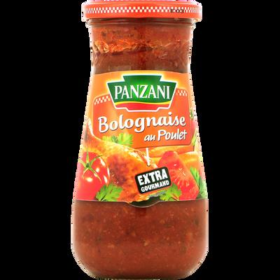 Sauce bolognaise au poulet PANZANI, 400g