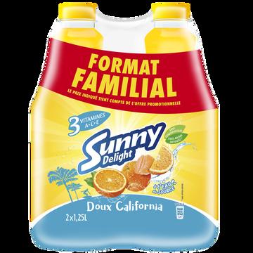 Sunny Delight Boisson Aux Fruits Frais Doux California Sunny Delight, 2x1,25litre