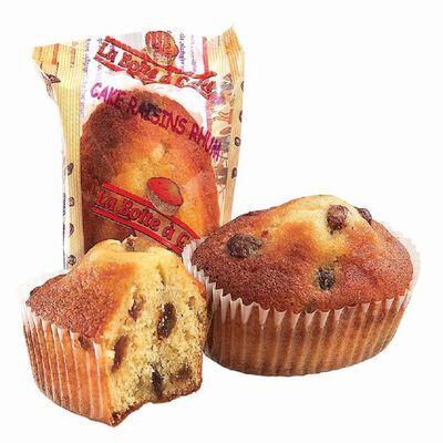Minis cakes au rhum et raisins BOITE A CAKES, 30 pièces, 1.05kg