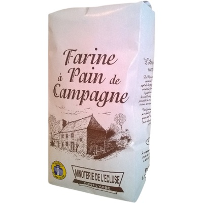 Farine à pain de campagne MINOTERIE DE L'ECLUSE, 1kg