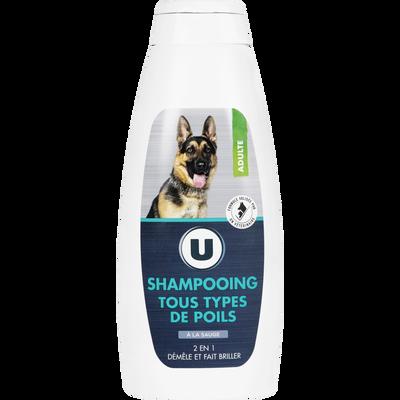 Shampooing tous types poils, U, 500ml