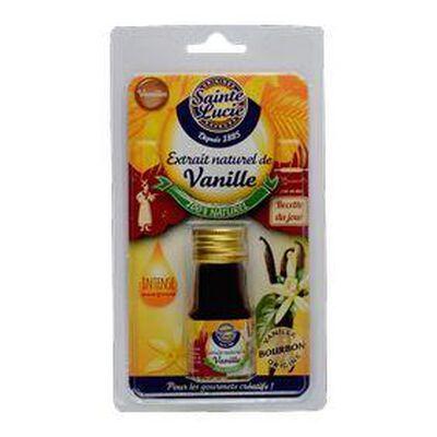 Extrait naturel de vanille SAINTE LUCIE, 20ml