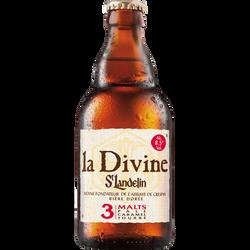 Bière blonde LA DIVINE, 8,5, 33cl