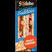 Sodeb'O Sandwich Pain Polaire Et Poulet Tandoori Sodebo, 135g