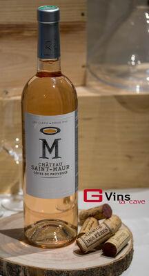 Magnum Côtes de Provence Château Saint Maur Cuvée  M  2018 150cl