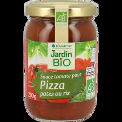 Sauce tomate pour pâte riz et pizza  JARDIN BIO, 200 g