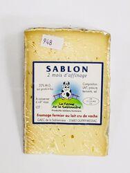 Fromage fermier au lait cru de vaches affiné 2 mois, FERME DE LA SABLONNIERE, 32%mg, 300g