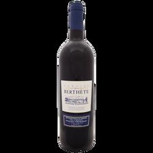 Vin rouge Principauté d'Orange vin de pays, DOMAINE DE LA BERTHETE, bouteille de 75cl