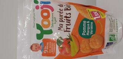 PUREE DE FRUITS BIO DES 9MOIS