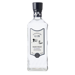 Gin Japonais Classic SAKURAO, 40°, 70cl