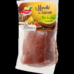 Plat de côte de porc demi-sel, France
