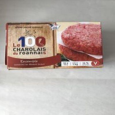 Steaks hachés surgelés 100% roannais HACHE ROANNAIS
