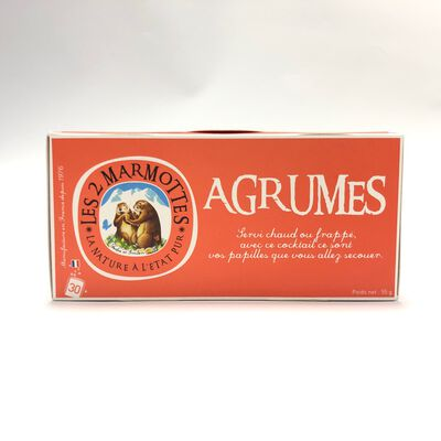 INFUSION AUX AGRUMES