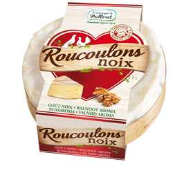Fromage pasteurisé Roucoulons noix 30%mg FROM.MILLERET 125g