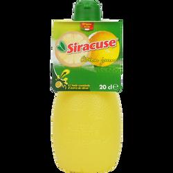 Jus de citron jaune SIRACUSE, 20cl