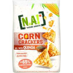 corne crackers quinoa N.A !, sachet de 50g