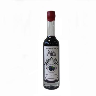 Crème de myrtille 17%, bouteille de 35cl