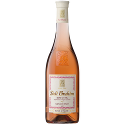 Vin du Maghreb rosé SIDI BRAHIM, bi-cepage, 75cl