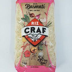 Riz basmati de luxe, CRAF, le paquet de 1Kg