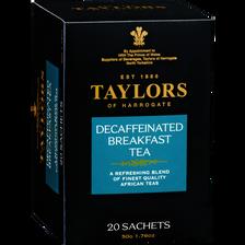 Thé décaffeine TAYLORS, 20 sachets de 50g