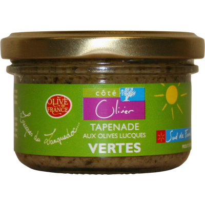 Tapenade aux olives Lucques vertes, pot 90g